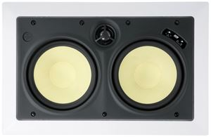 Picture of DCM TFE2630LCR Dual 6.5 inch 2-Way 150W RMS 8 Ohm In-Wall LCR Speaker