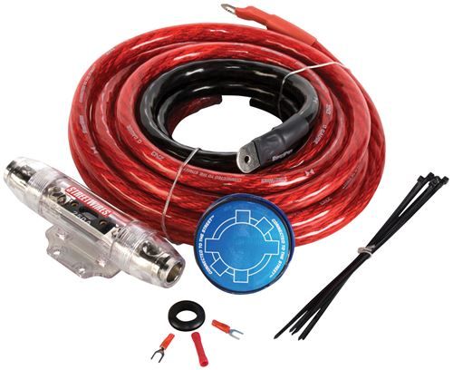Picture of MTX StreetWires ZN3K-00 1/0 AWG Amplifier Kit