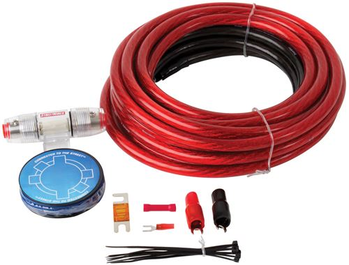Picture of MTX StreetWires ZN3K-04 4 AWG Amplifier Kit