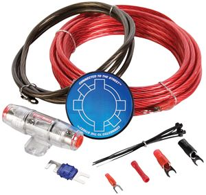 Picture of MTX StreetWires ZN3K-08 8 AWG Amplifier Kit