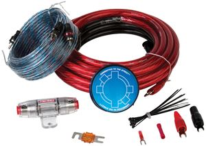 Picture of MTX StreetWires ZN3KI-04 4 AWG Amplifier Kit w/ Interconnect