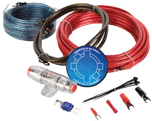 Picture of MTX StreetWires ZN3KI-08 8 AWG Amplifier Kit w/ Interconnect