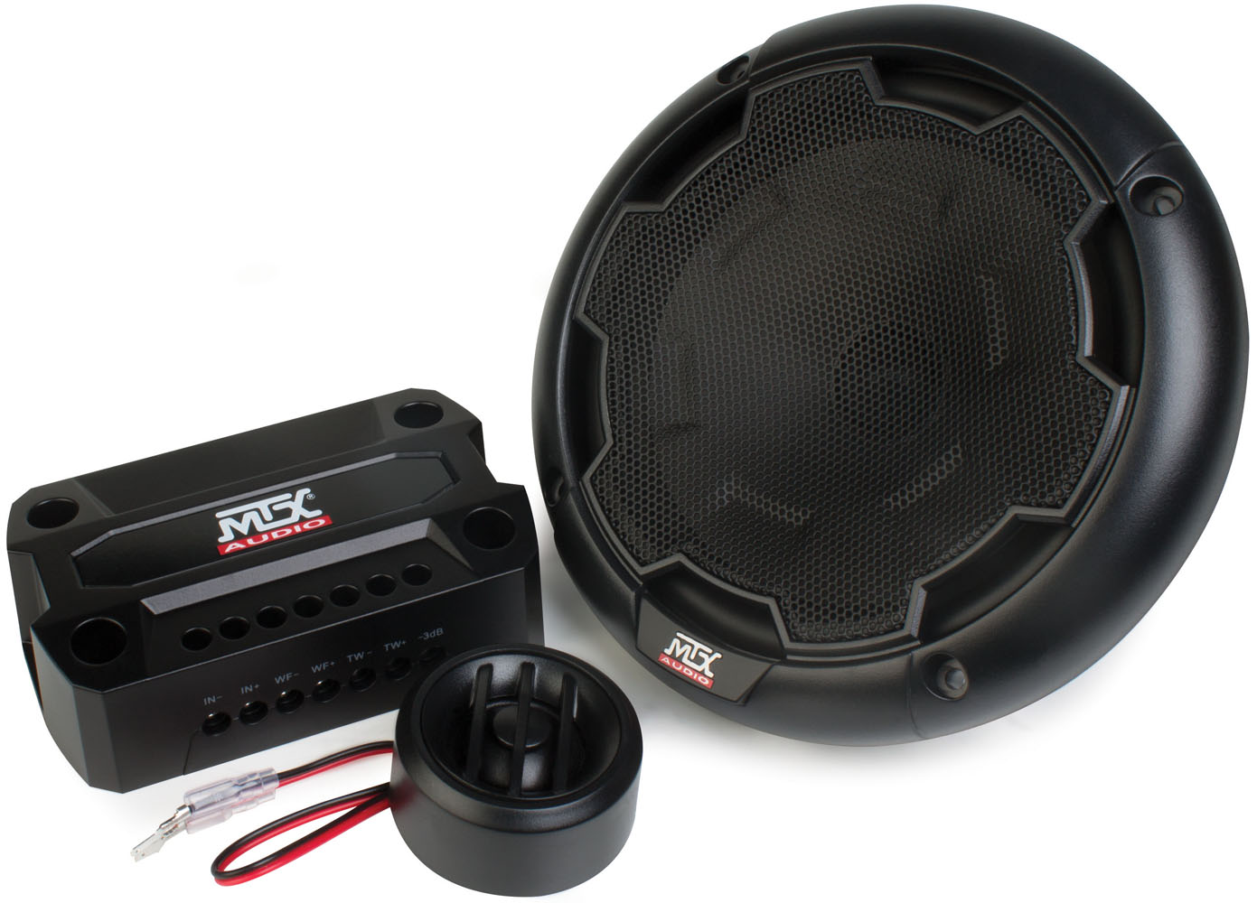 "THUNDER Series 6.5"" 4Ω Component Speaker Pair 
