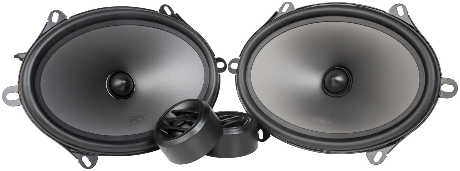"""THUNDER Series 5"""" x 7"""" 4Ω Component Speaker Pair 