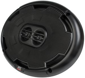 "Picture of 6"" x 9"" 3-Way 100-Watt RMS 4Ω Coaxial Speaker Pair"