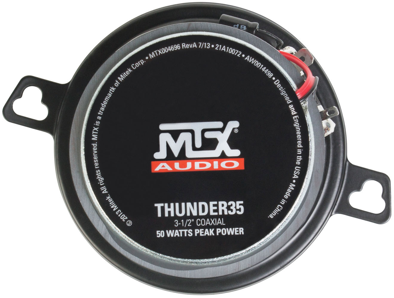 Thunder35 3 5 Quot Thunder Series 4 Ohm Coaxial Speaker Pair