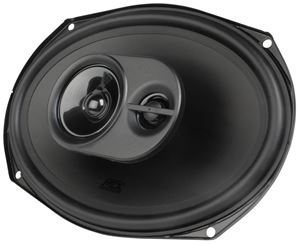 "Picture of 6"" x 9"" 3-Way 60-Watt RMS 4Ω Triaxial Speaker Pair"
