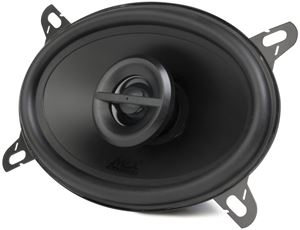 "Picture of 4"" x 6"" 2-Way 40-Watt RMS 4Ω Coaxial Speaker Pair"