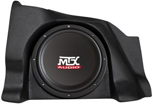 Picture of Chevrolet Silverado Extended Cab Loaded 10 inch 200W RMS 4 Ohm Vehicle Specific Custom Subwoofer Enclosure
