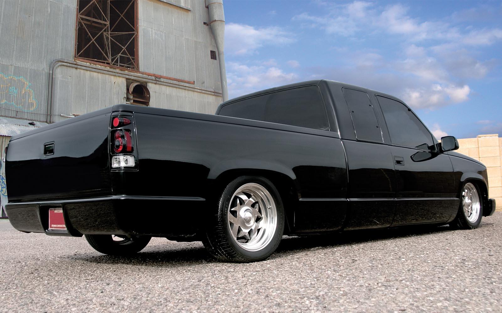 Silverado 95 chevy silverado : Chevrolet Silverado Extra Cab 1988-2006 ThunderForm Custom ...