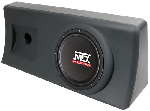 """Picture of S1010AC-TN Amplified 10 inch 200W RMS Enclosure Fits 12"""" x 32"""" x 8"""" Mounting Space"""