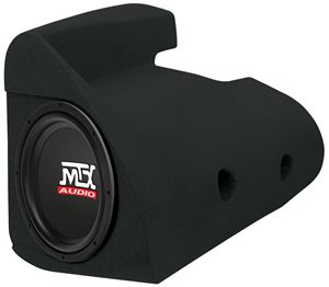 Picture of Dodge Neon Amplified 10 inch 200W RMS Vehicle Specific Custom Subwoofer Enclosure