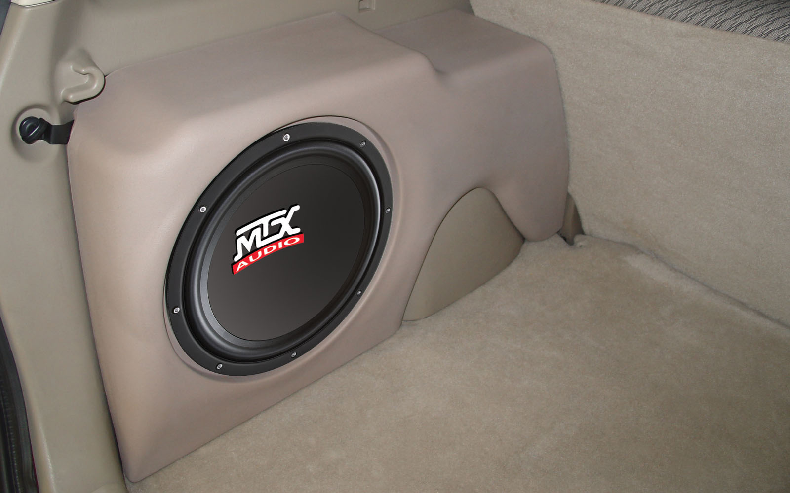 Ford Escape 2014 Custom >> Ford Escape 2001-2004 ThunderForm Custom Subwoofer Enclosure | MTX Audio - Serious About Sound®