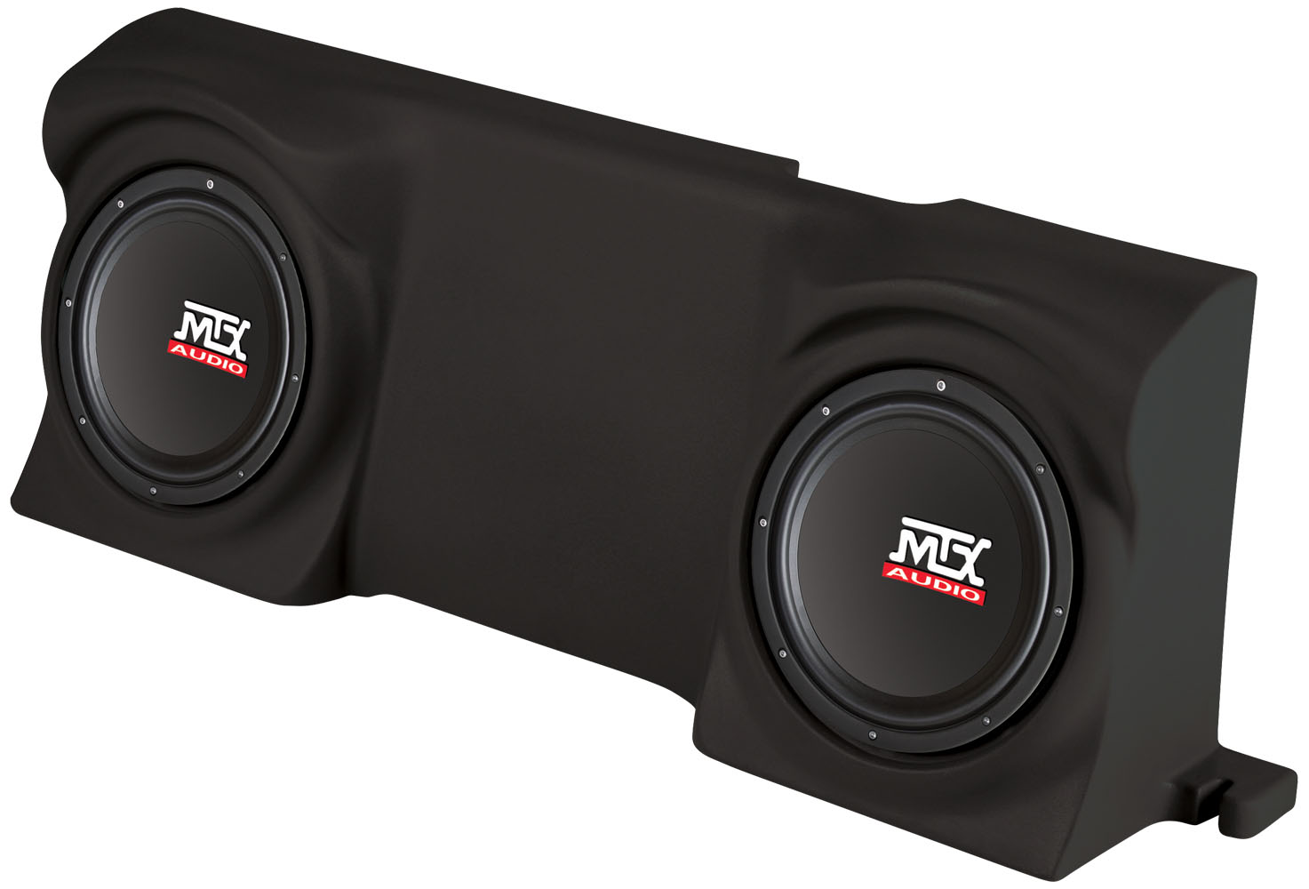 Ford F Regular Cab Loaded Dual Inch W Rms Ohm Vehicle Specific Custom Subwoofer Enclosur