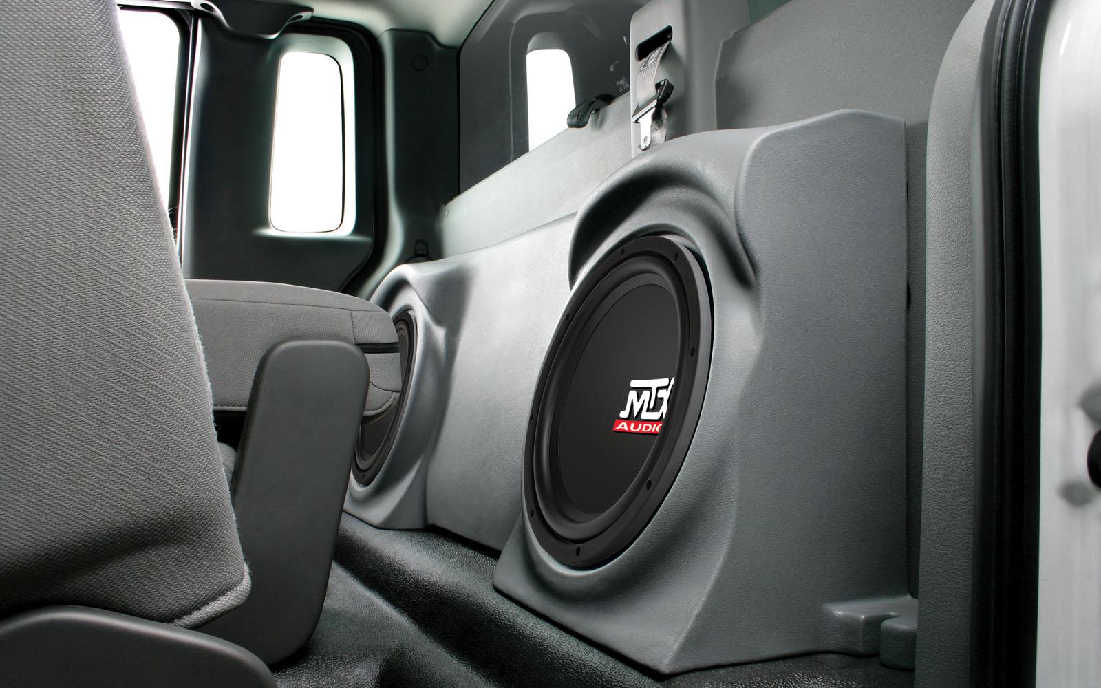 Ford F 150 Regular Cab 2004 2011 Thunderform Custom Subwoofer F150 Factory Wiring Harness Sku F150r04c24a Tn