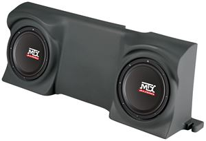 Picture of Ford F-150 Regular Cab Loaded Dual 12 inch 400W RMS 4 Ohm Vehicle Specific Custom Subwoofer Enclosure