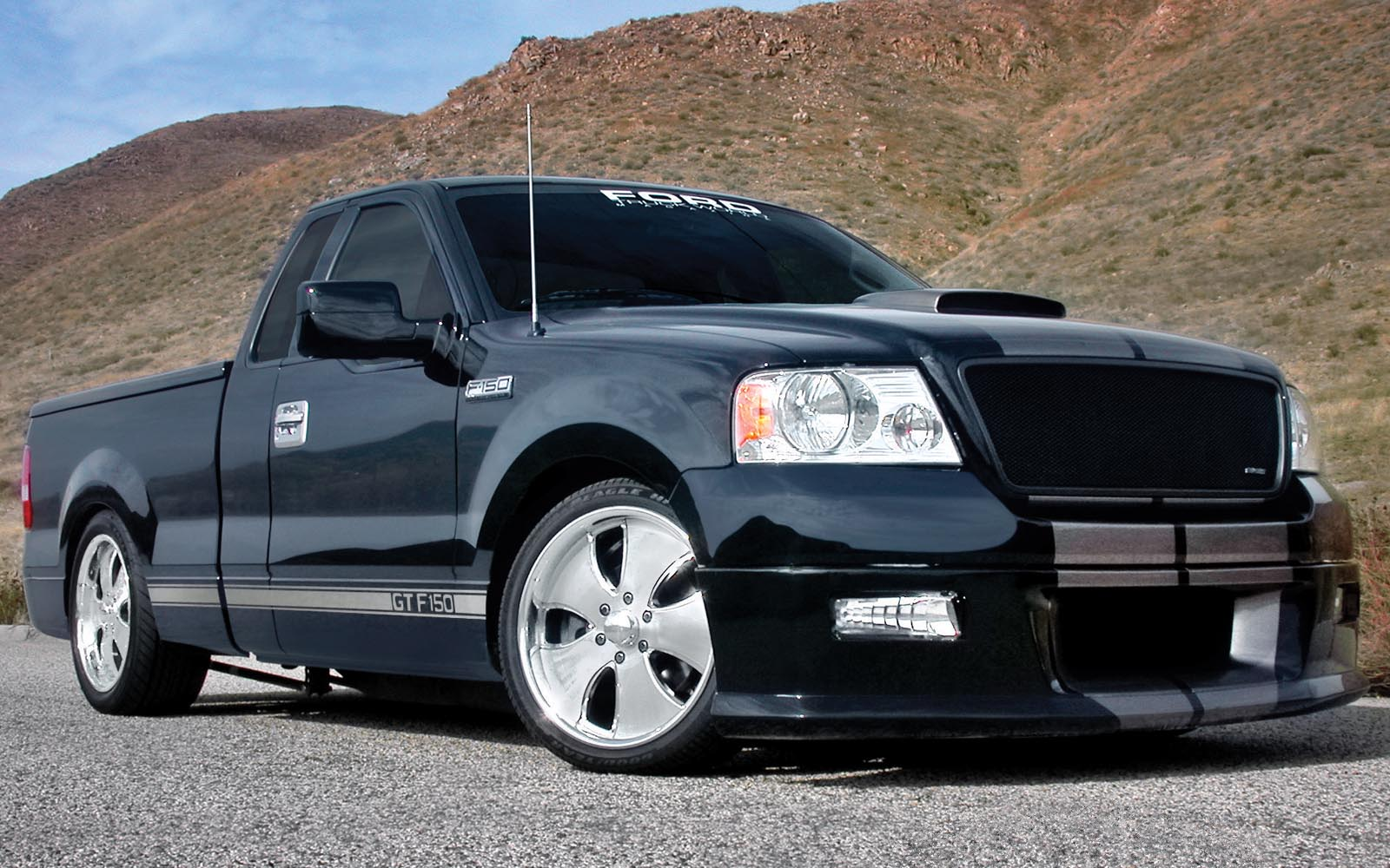 Ford F 150 Regular Cab 2004 2014 Thunderform Custom Amplified