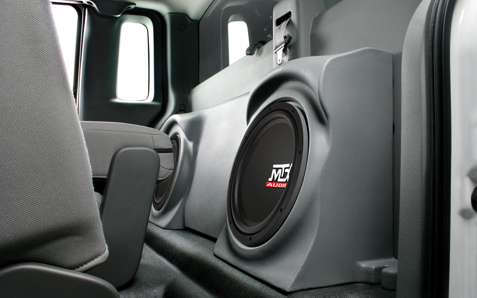 Wireless Car Speakers >> Ford F-150 Regular Cab 2004-2014 ThunderForm Custom Subwoofer Enclosure | MTX Audio - Serious ...