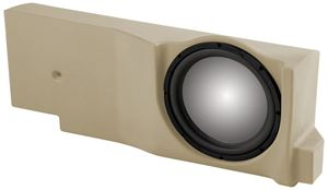 Picture of Ford F-150 Crew/Extended Cab Unloaded 12 inch Vehicle Specific Custom Subwoofer Enclosure