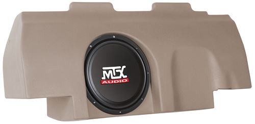 Picture of Fits Ford F-150 Super Cab Loaded 10 inch 200W RMS 4 Ohm Vehicle Specific Custom Subwoofer Enclosure