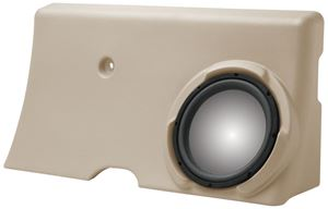 Picture of Ford F-250/F-350 Super Crew Unloaded 10 inch Vehicle Specific Custom Subwoofer Enclosure