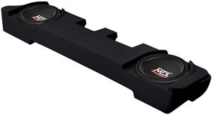 Picture of Ford F-250 Super Cab Loaded Dual 10 inch 400W RMS 4 Ohm Vehicle Specific Custom Subwoofer Enclosure