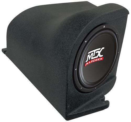 Picture of Ford Mustang Amplified 10 inch 200W RMS Vehicle Specific Custom Subwoofer Enclosure