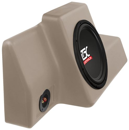 Picture of Fits Ford Ranger Regular Cab 1998-2011 Amplified 10 inch 200W RMS Vehicle Specific Custom Subwoofer Enclosure