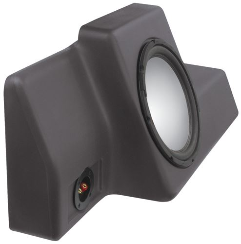 Picture of Fits 1998-2011 Unloaded 10 inch Vehicle Specific Custom Subwoofer Enclosure