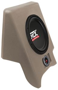 Picture of Fits Ford Ranger Regular Cab 1993-1997 Amplified 10 inch 200W RMS Vehicle Specific Custom Subwoofer Enclosure