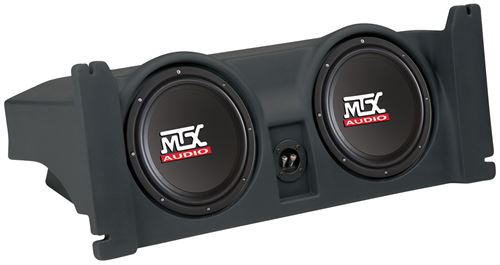 Picture of Jeep Wrangler TJ Amplified Dual 10 inch 200W RMS Vehicle Specific Custom Subwoofer Subwoofer Enclosure