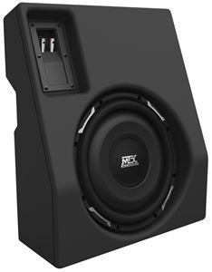 Picture of Toyota Tacoma Double Cab Loaded 10 inch 300W RMS 4 Ohm Vehicle Specific Custom Subwoofer Enclosure