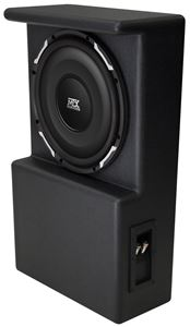 Picture of Toyota Tundra Loaded 10 inch 300W RMS 4 Ohm Vehicle Specific Custom Subwoofer Enclosure