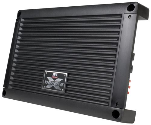 XTHUNDER1500.1 Mono Block Car Audio Amplifier Front Angle