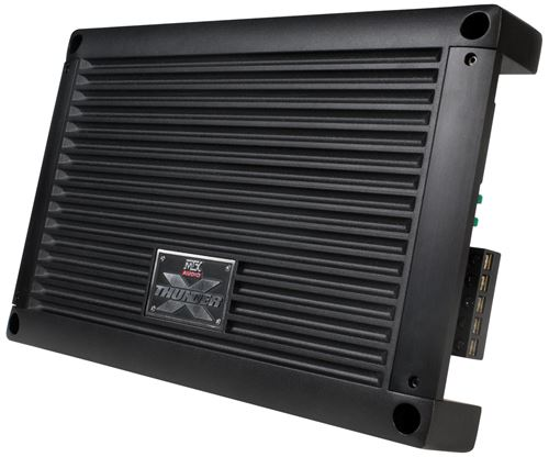 XTHUNDER125.4 5-Channel Car Audio Full Range Amplifier Front Angle