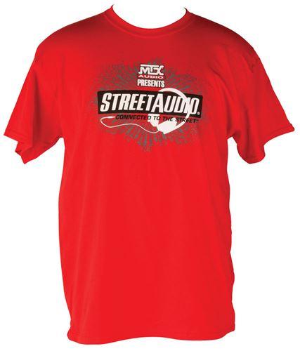 Picture of Medium Red MTX StreetAudio T-Shirt