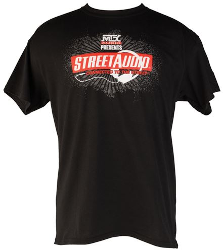 Picture of Small Black MTX StreetAudio T-Shirt