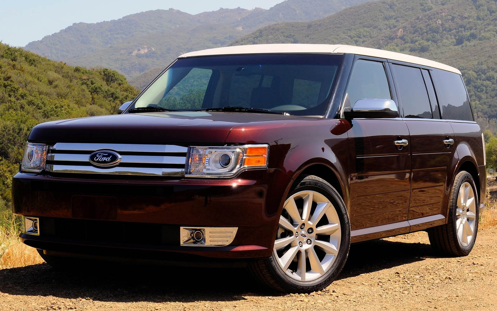 Ford Flex 2009 2015 Thunderform Custom Subwoofer Enclosure Mtx Fuse Box Audio Serious About Sound