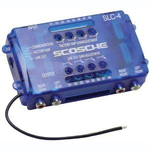 Picture of Scosche SLC4 Stereo Output Convertor