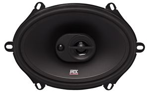 Picture of Terminator TN573 5 inch x 7 inch 2-Way 55W RMS 4 Ohm Coaxial Speaker Pair