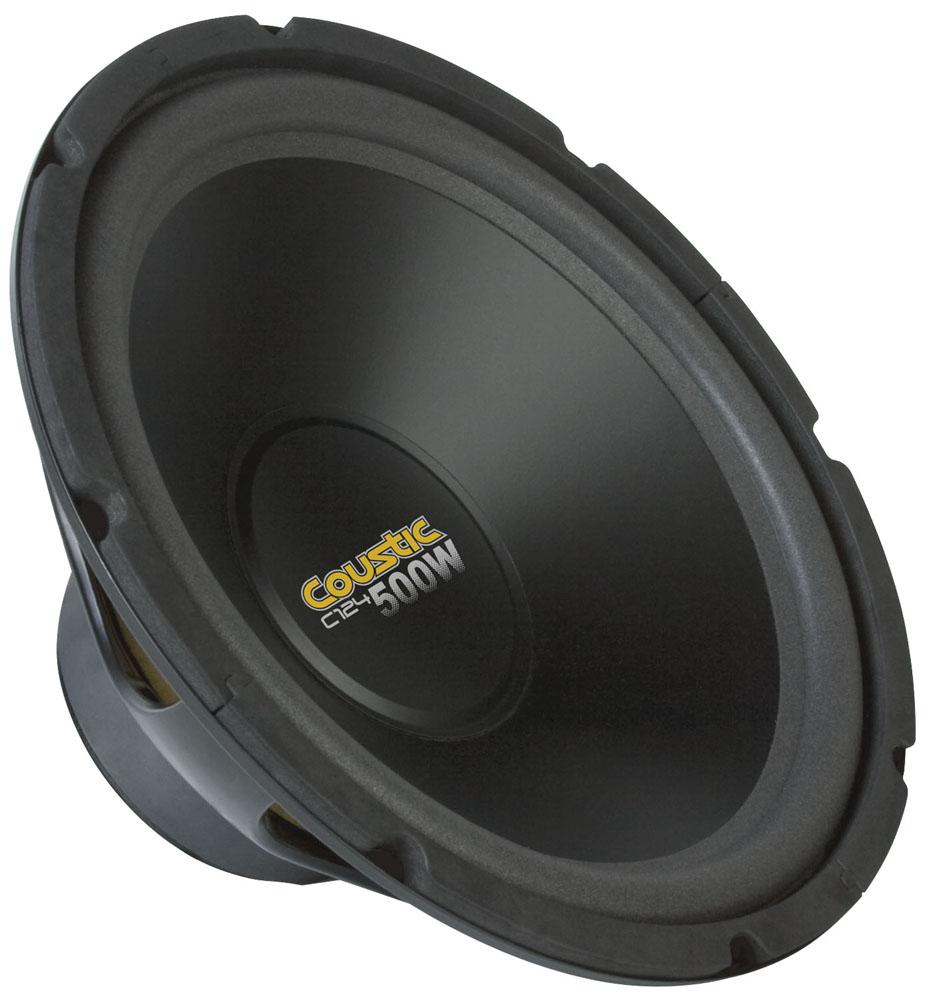 C124 12 Quot Coustic 4 Ohm Dual Voice Coil Subwoofer Mtx