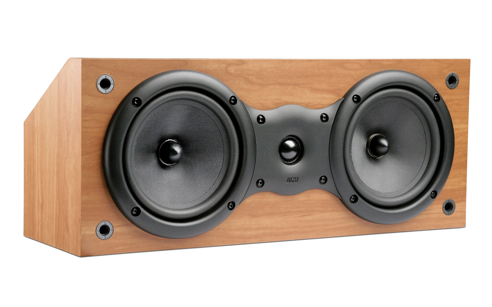 speakers 8 inch. picture of dcm dcm16c-cherry dual 6.5 inch 2-way 100w rms 8 ohm speakers