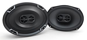 "Picture of 7"" x 10"" 3-Way 125-Watt RMS 4Ω Triaxial Speaker Pair"