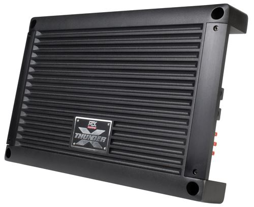 XTHUNDER1200.1 Mono Block Car Audio Amplifier Front Angle