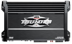 Picture of MTX 704X 420W RMS 4-Channel Class A/B Amplifier