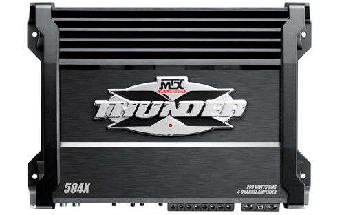 Picture of MTX 504X 300W RMS 4-Channel Class A/B Amplifier