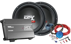Picture of RoadThunder 500W Amplifiier and Dual Subwoofer Package