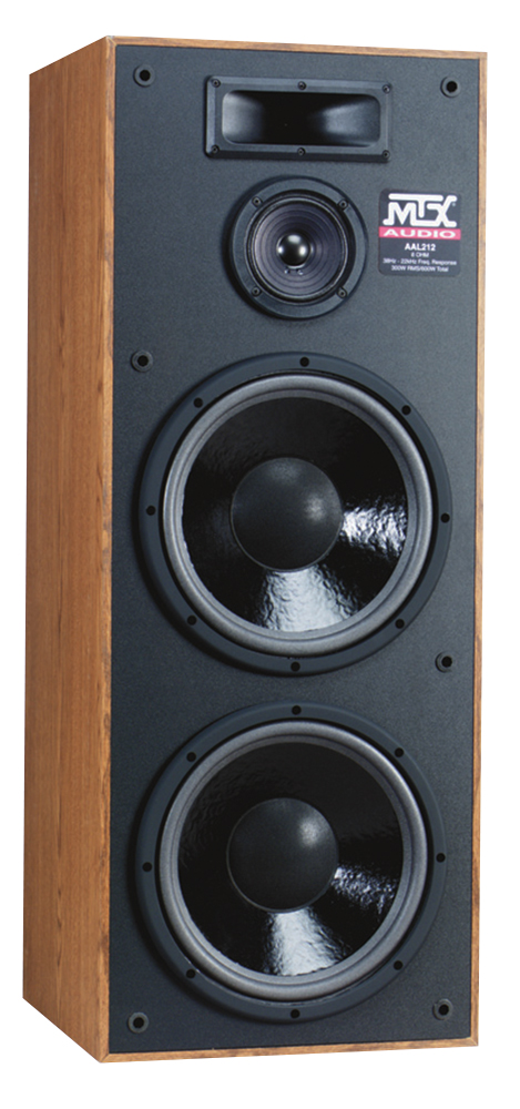 Aal212 3 way tower party speaker mtx audio for 12 inch floor speakers
