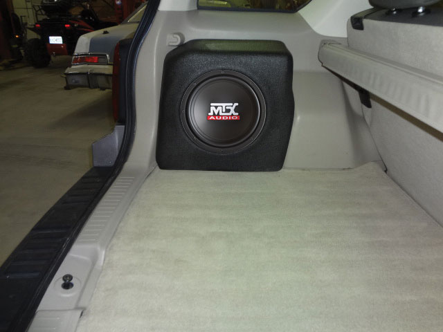 Ford Escape 2008 2012 Thunderform Custom Subwoofer
