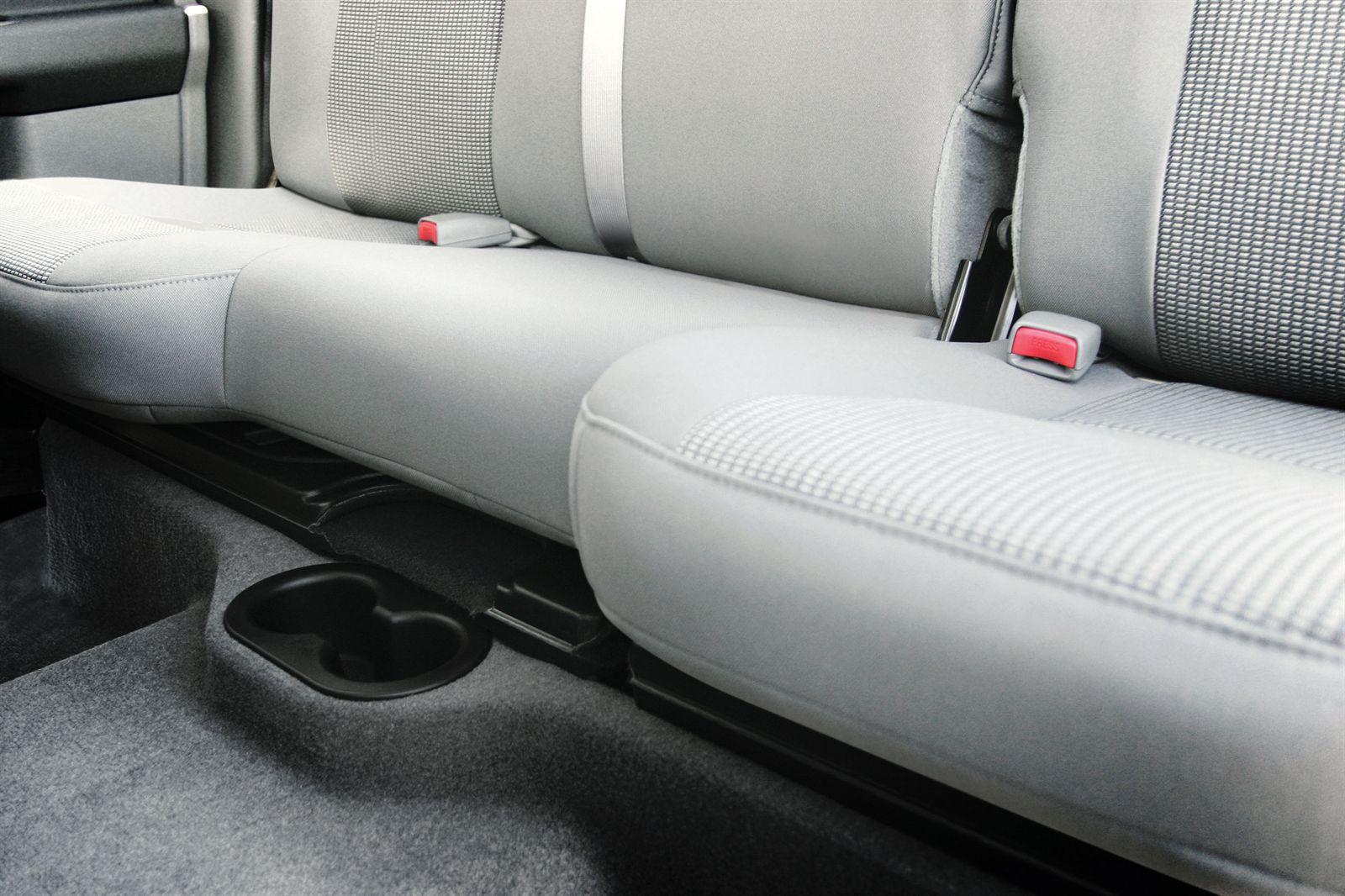 2002 Dodge Ram 1500 Accessories >> DRQC20T-TN Thunderform Loaded Subwoofer Enclosure Dodge Ram Quad Cab 2002-2016 - Tan   MTX Audio ...